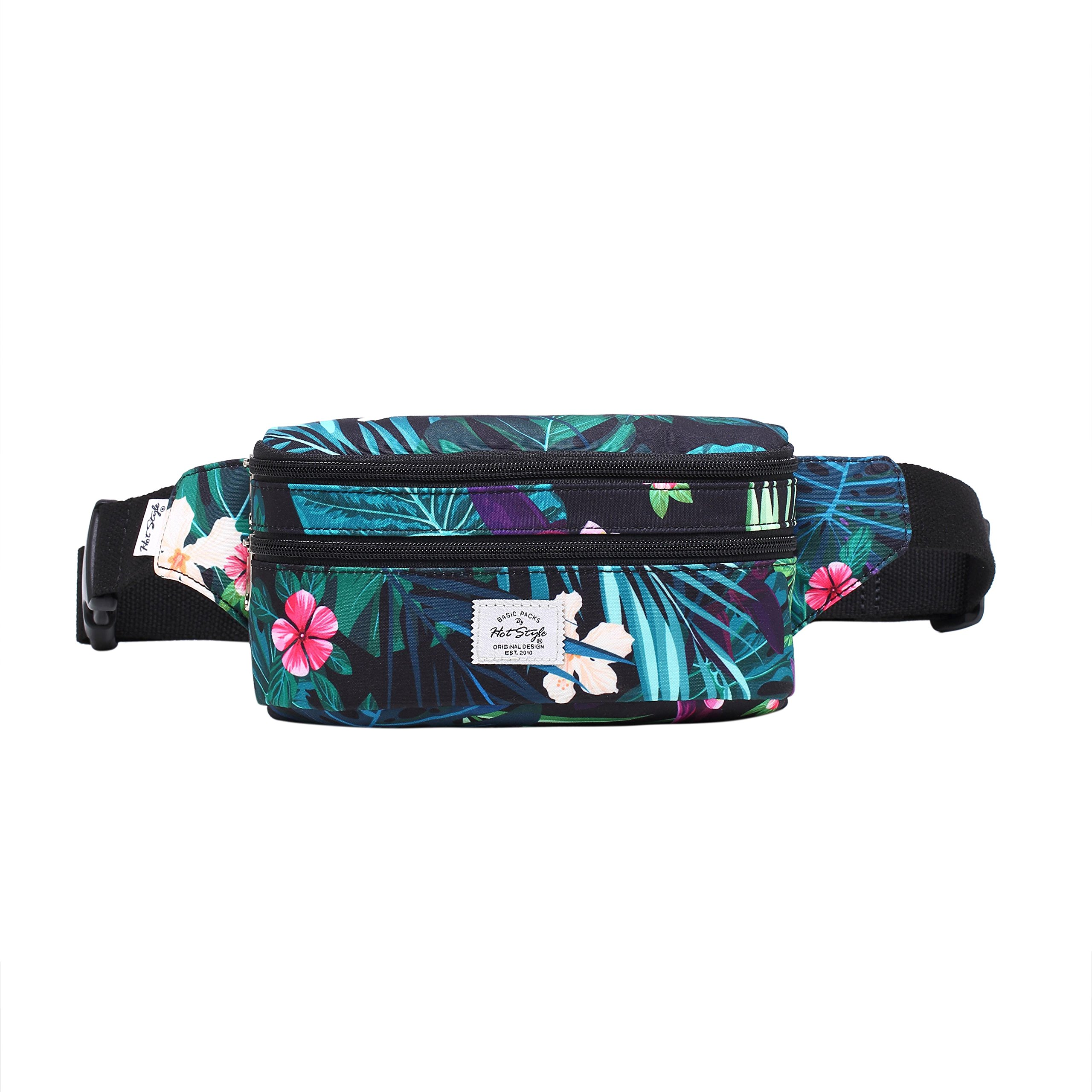 521s Fashion Waist Bag Cute Fanny Pack | 8.0''x2.5''x4.3'' | Amazon Jungles by hotstyle