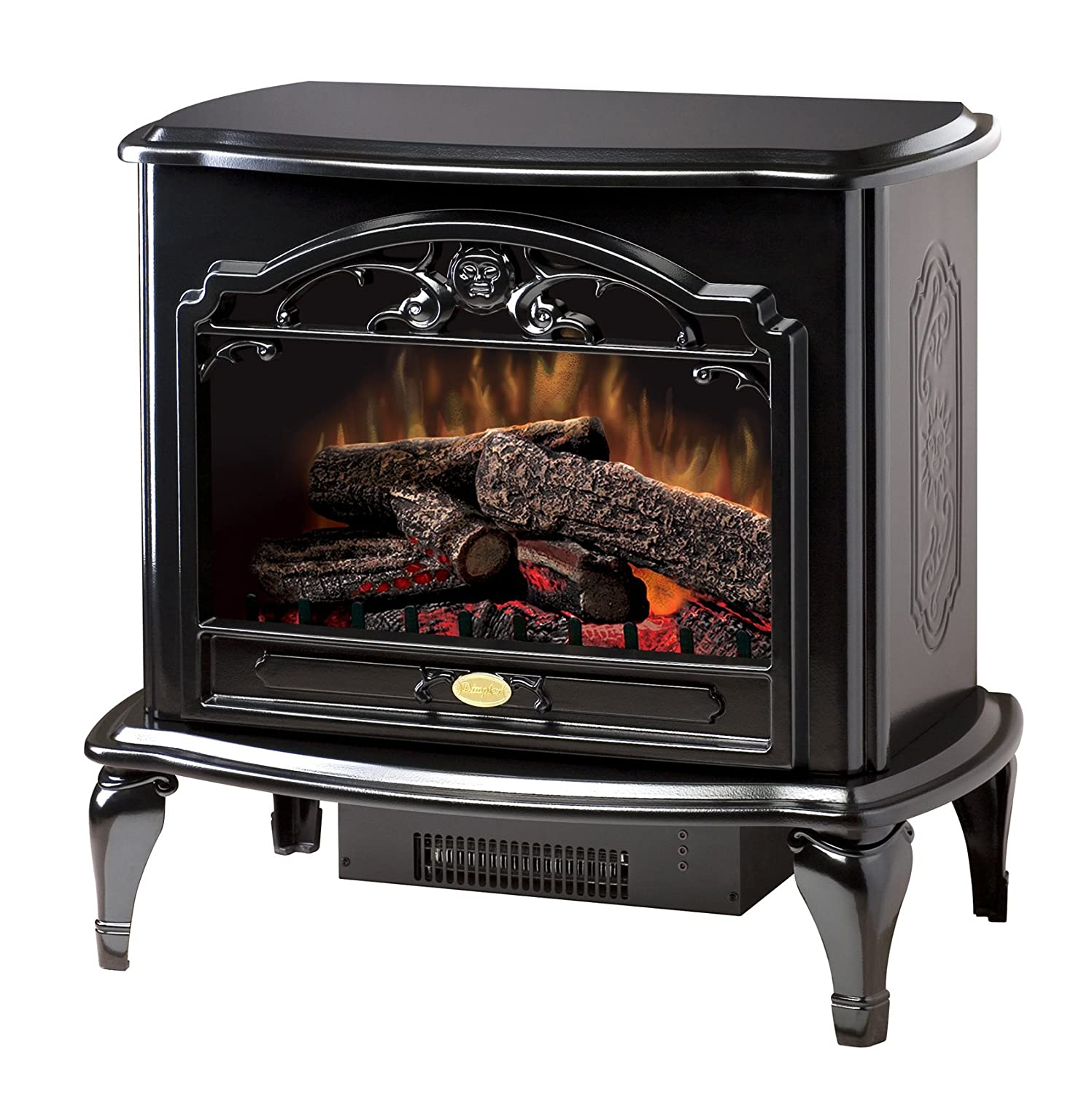 Dimplex Tds8515tb Celeste Electric Stove Glossy Black Garage Heaters With Thermostat 1 Home Kitchen