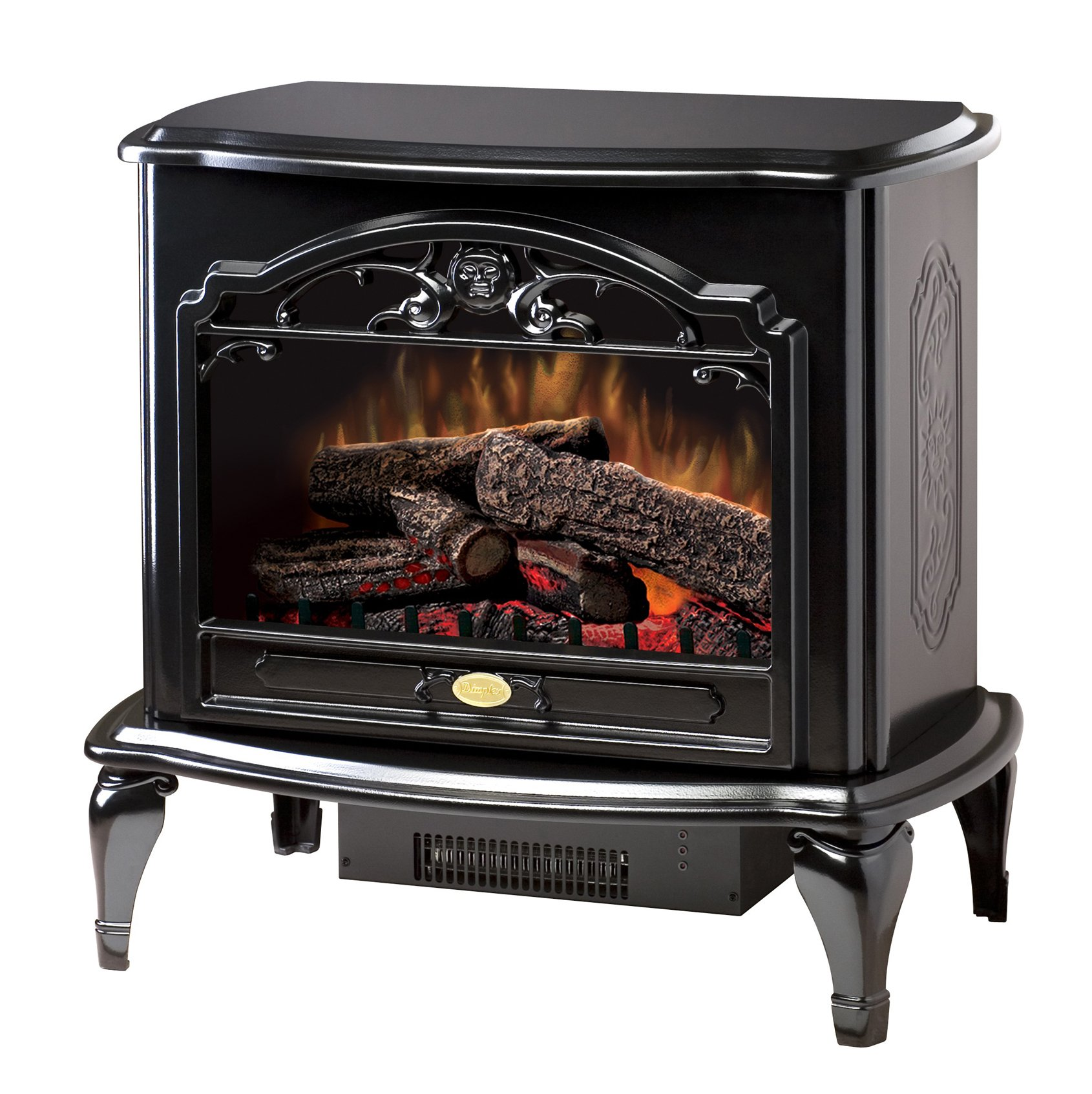 Dimplex TDS8515TB Celeste Electric Stove, Glossy Black by DIMPLEX