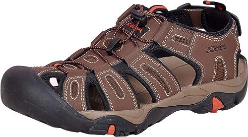 Brown Oak Men's Waterproof Hiking Sandals