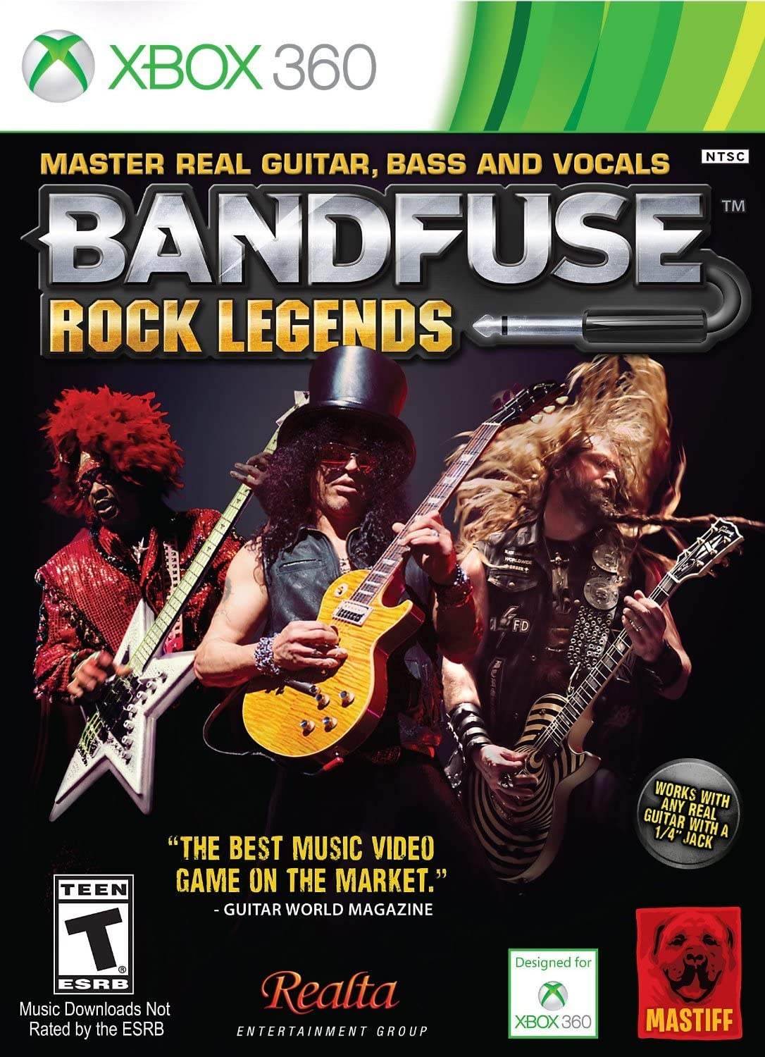 Amazon.com: BandFuse: Rock Legends (Artist Pack): Xbox 360 ... on