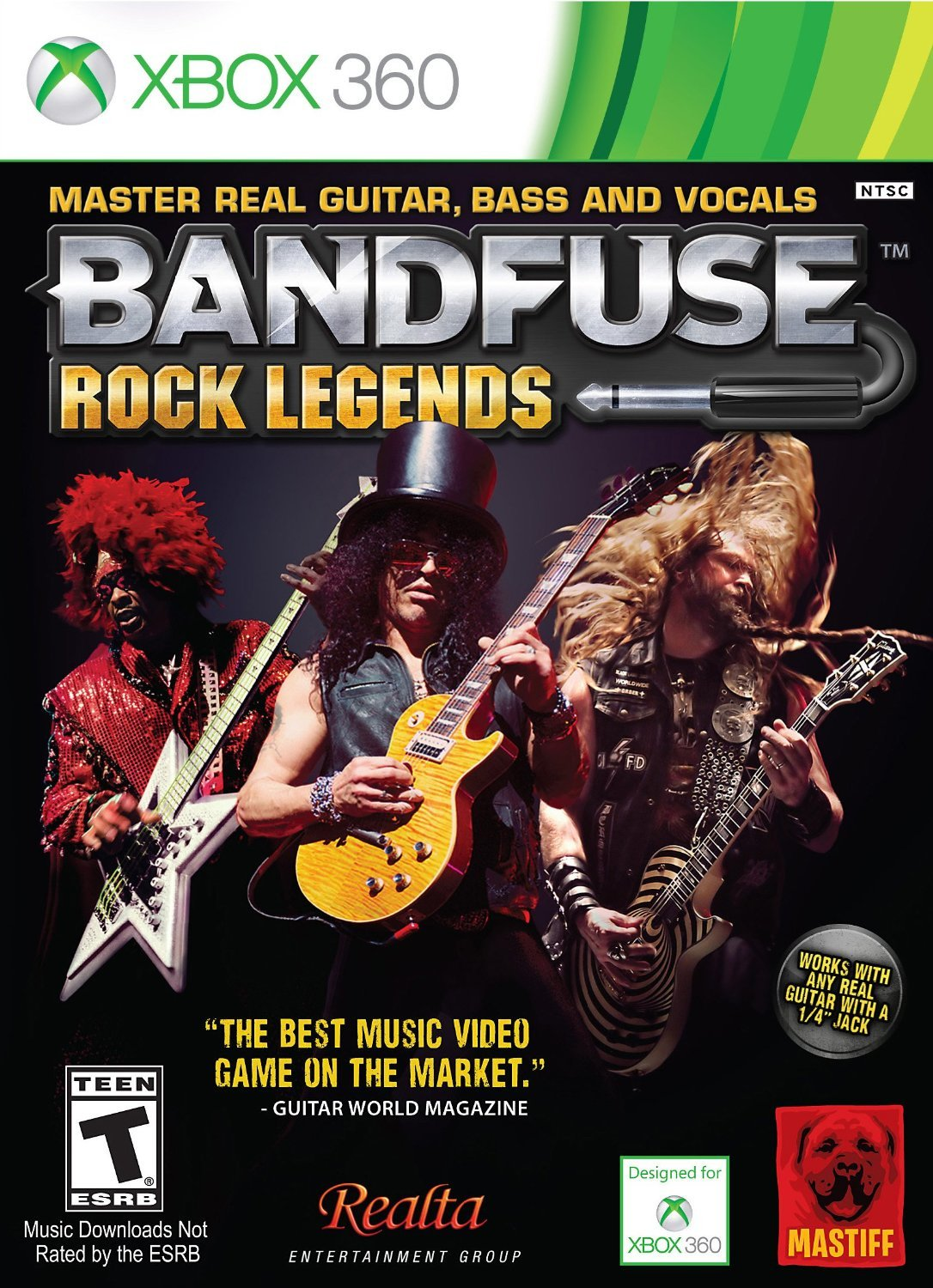Buy Bandfuse Rock Legends Artist Pack Xbox 360 Online At Low Free Download Bass Guitar Wiring Diagram Prices In India Mastiff Video Games