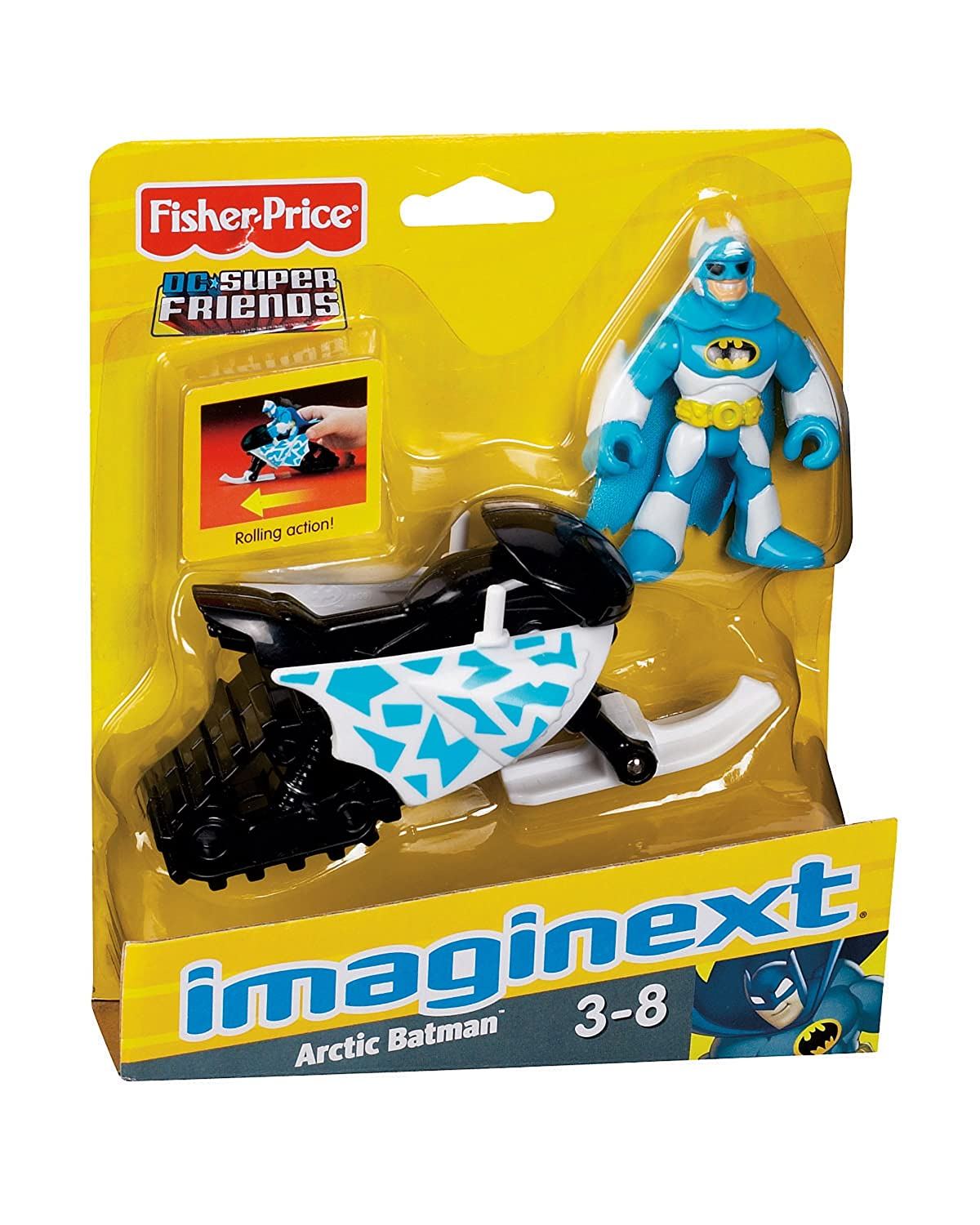 Arctic Batman Fisher Price P8086 Fisher-Price Imaginext DC Super Friends