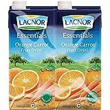 Lacnor Essentials Orange Juice - Pack of 4 Pieces (4 x 1 Liter)