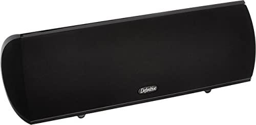 Definitive Technology Procenter 1000 Compact Center Speaker Single, Black