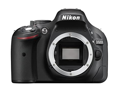 Nikon D5200 - Cámara digital (24.1 MP, SLR Body, CMOS, Nikon F ...