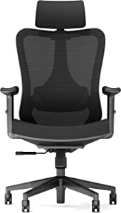 Ergonomic Office Chair Big And Tall High Back - PC Gaming Computer Desk Chair Wheel For Adults Kids Teens - Swivel Adjustable Executive Home Mesh Rolling Comfortable Task Arm Work Chair Lumbar Support