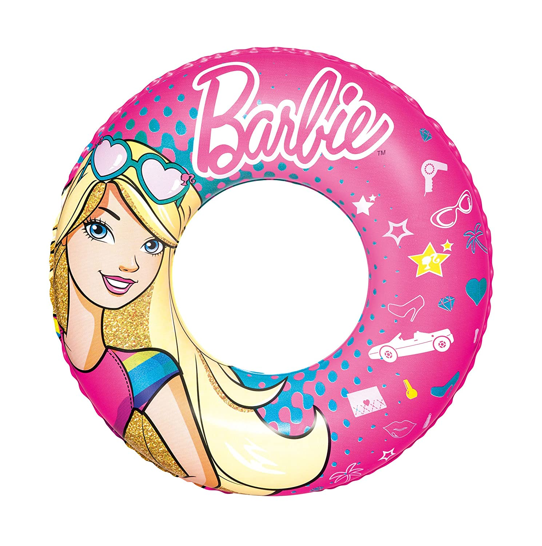 Bestway Barbie Children One Swim Ring Tube