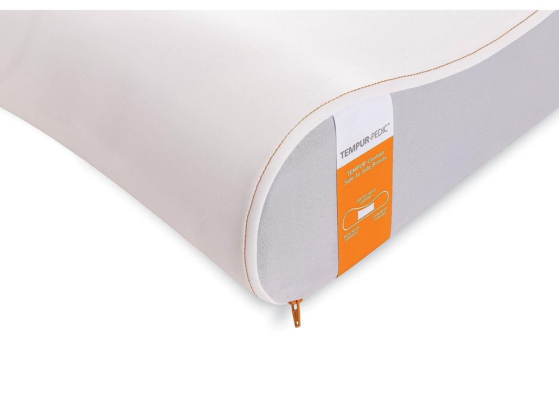 amazon com tempur contour breeze side to side pillow home kitchen