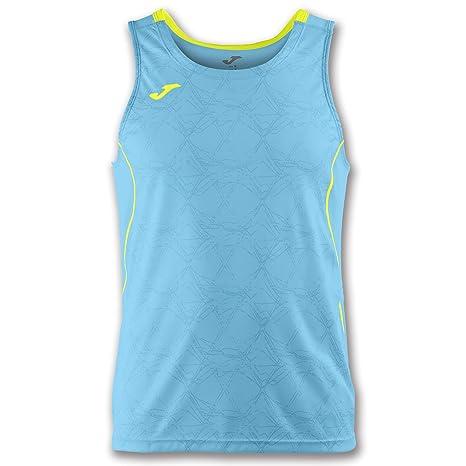 Joma Teamwear Tank Top Sleeveless Olimpia Turquoise-Yellow