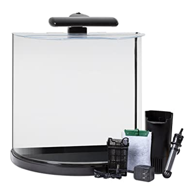 Tetra 29234 half moon aquarium kit 10 gallon