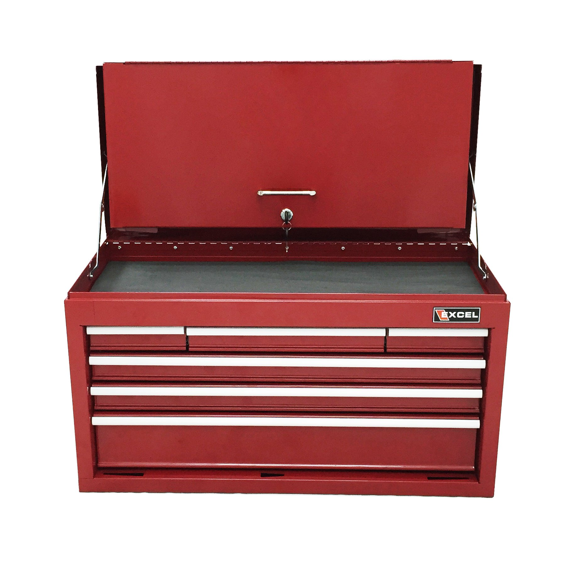 Excel TB2050BBSA-Red 26-Inch Steel Chest, Red
