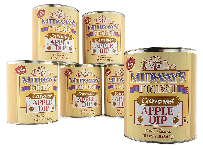 Midway's Finest Caramel Apple Dip (6 - 8 Lb. cans)