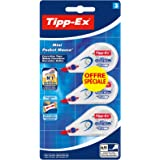 Tipp-Ex Mini Pocket Mouse Rubans Correcteurs - Blister de 2+1