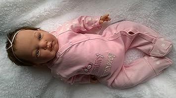 Reborn Baby Girl Muñeca ashlea, Heavy, 20 cm ... - Amazon.es