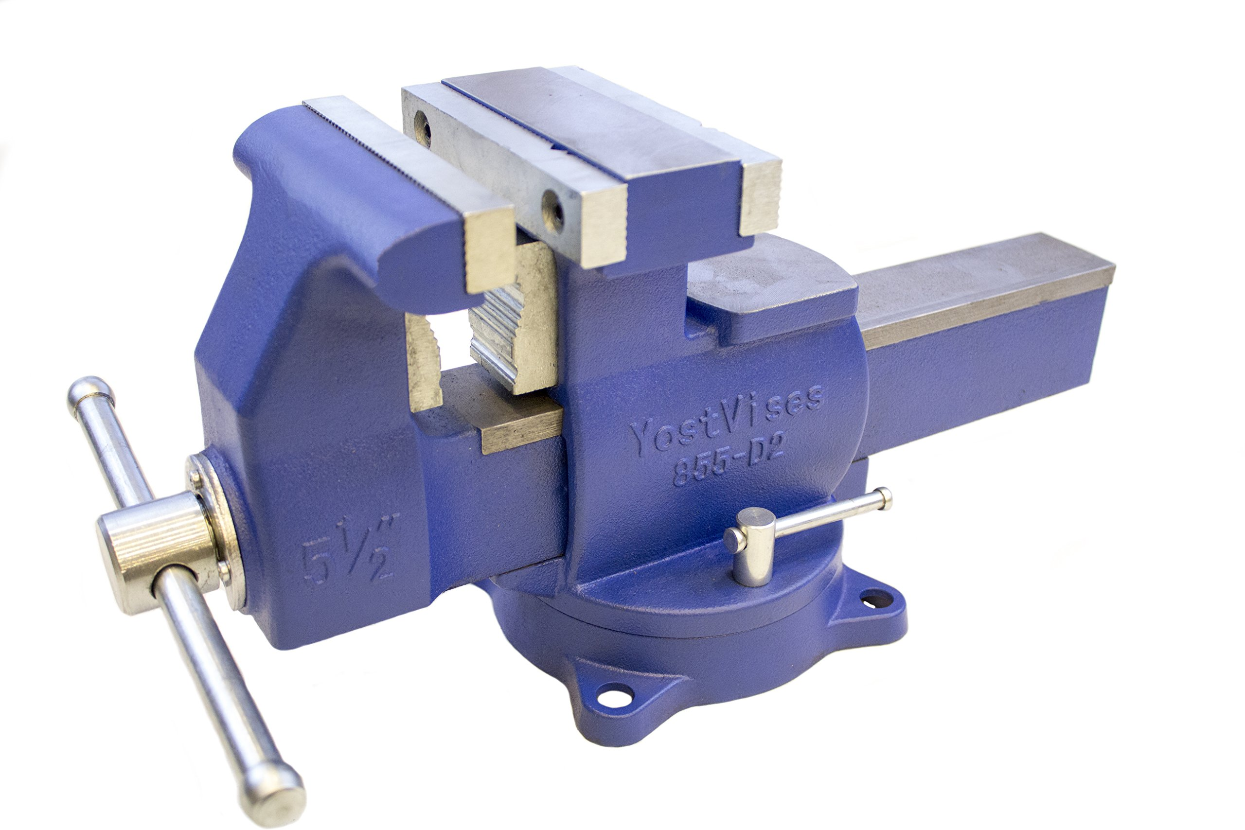 Yost Tools 865-D2 Industrial Grade 6.5'' Reversible Vise
