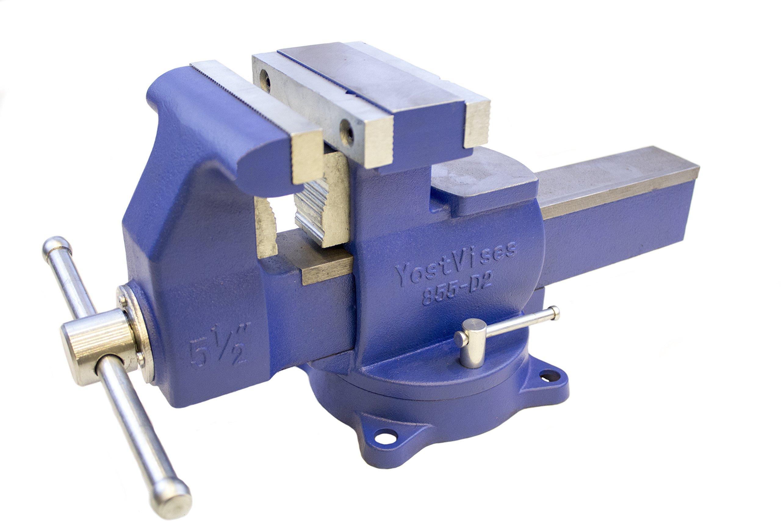 Yost Tools 880-D2 Industrial Grade 8'' Reversible Vise