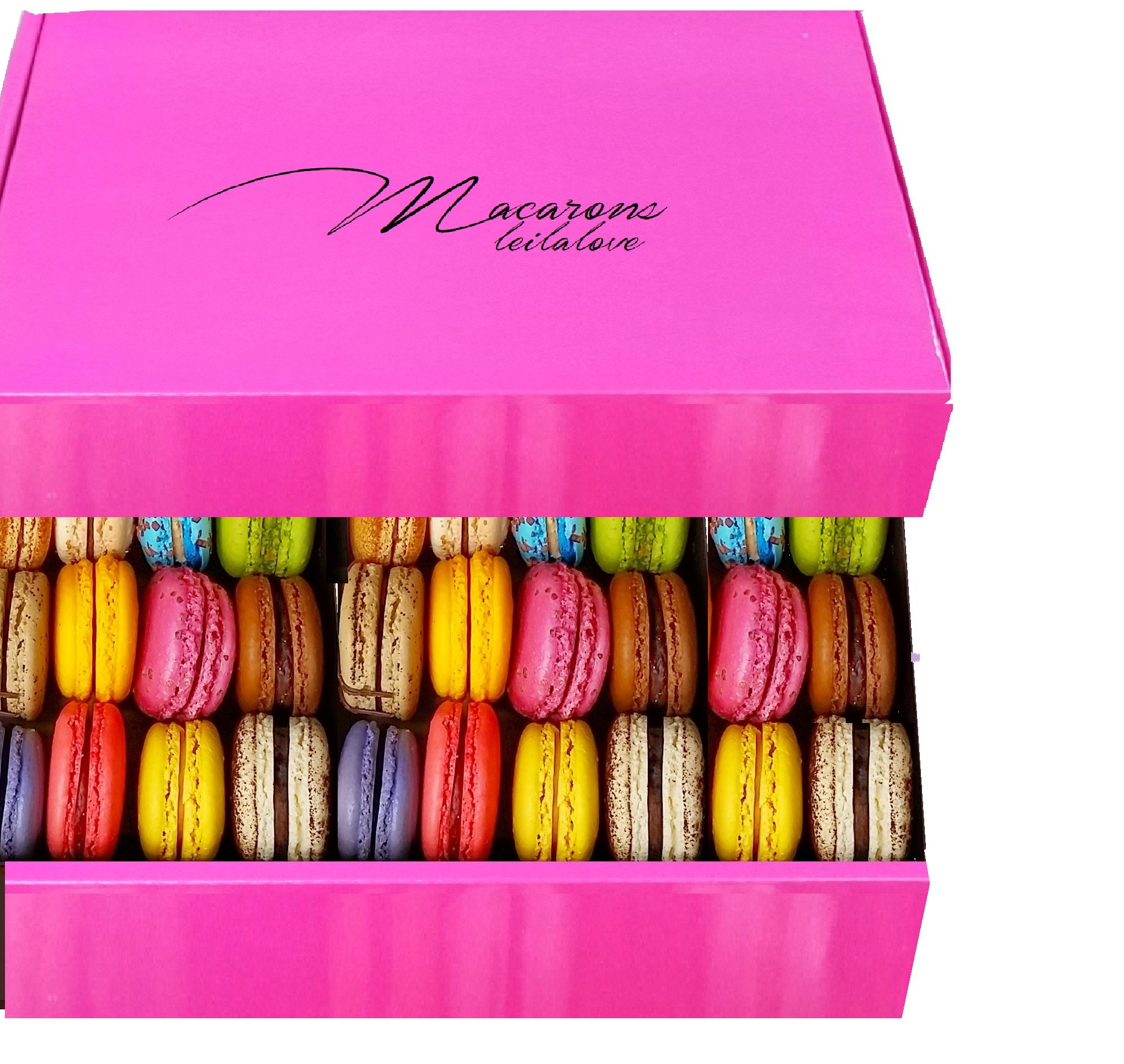 LeilaLove Macarons -30 Macarons -Fresh Baked to order by LeilaLove,Inc (Image #1)