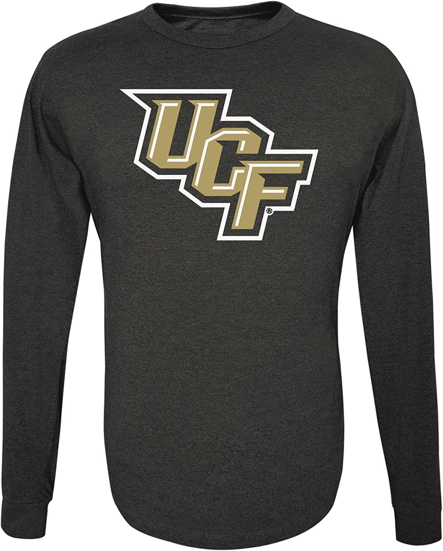 XX Large Black Alta Gracia NCAA Central Florida Golden Knights Mens Long Sleeve R-Spun Tee