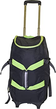 Lorell DBE01012 4 In 1 Rolling Backpack Luggage Bag