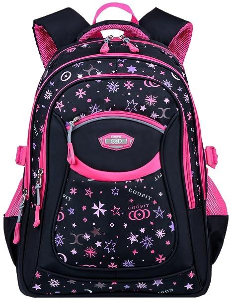 Amazon.com   COOFIT Backpacks for Girls School Bags Cute Backpacks  Childrens Backpack School Backpack for Girls   Kids  Backpacks e994805bc1