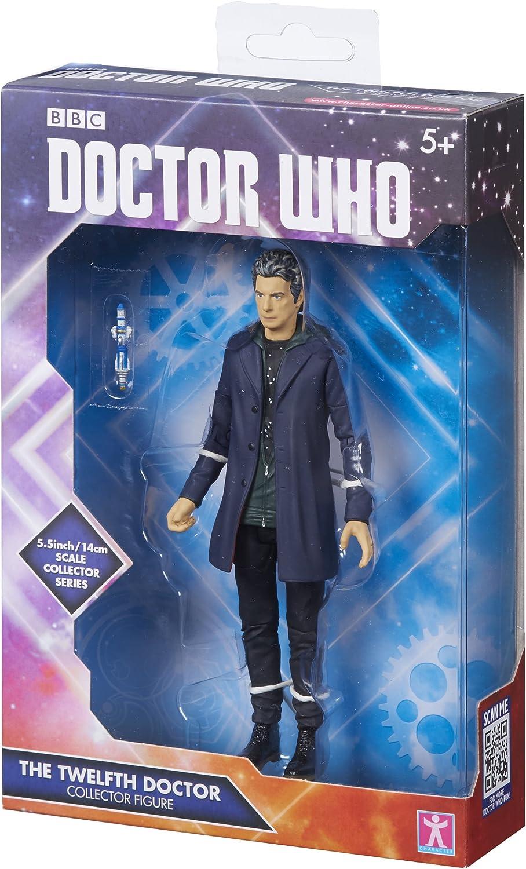 DOCTOR WHO Figura Coleccionable del Personaje de la BBC, Figura de Sudadera con Capucha, Figura 06283, Figura número 12, de Color Gris, de 12,7 cm: Amazon.es: Juguetes y juegos