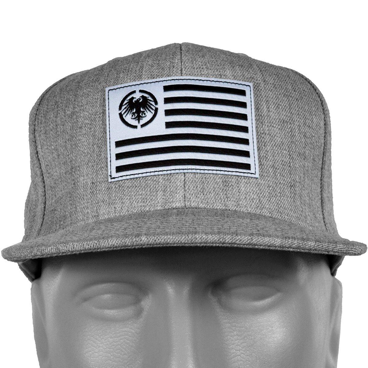 Never Summer Eagle USA Patch Snapback Hat