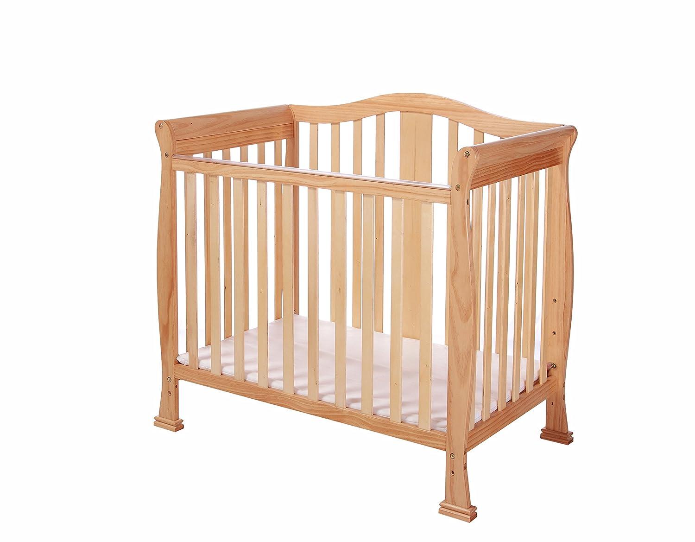Dream On Me Addison 4 in 1 Convertible Mini Crib, Cherry DREAS 633-C