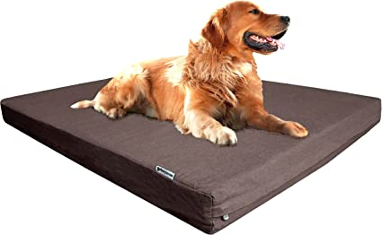 wateproof liner For Dog Bed Durable Brown Denim Jean Replacement Zipper Cover