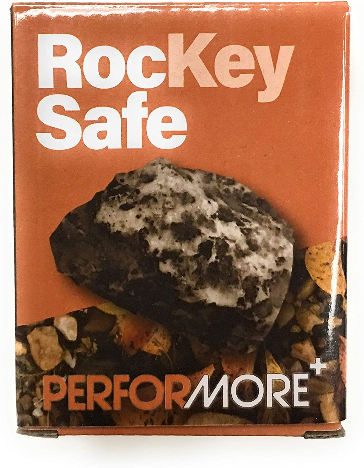 Hide A Key in a Real Looking Rock/Stone, Holds Standard Sized Spare Keys by Rockey Safe, Fits in with your Landscaping and Yard, Resistant to Outdoor Elements