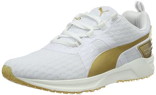 Puma Ignite Xt V2 Gold Wns Scarpa da Running Nero/Oro 8