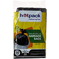 Hotpack Garbage Bag, 65x95 cm, 30 Gallon, 20 Pieces - pack of 1