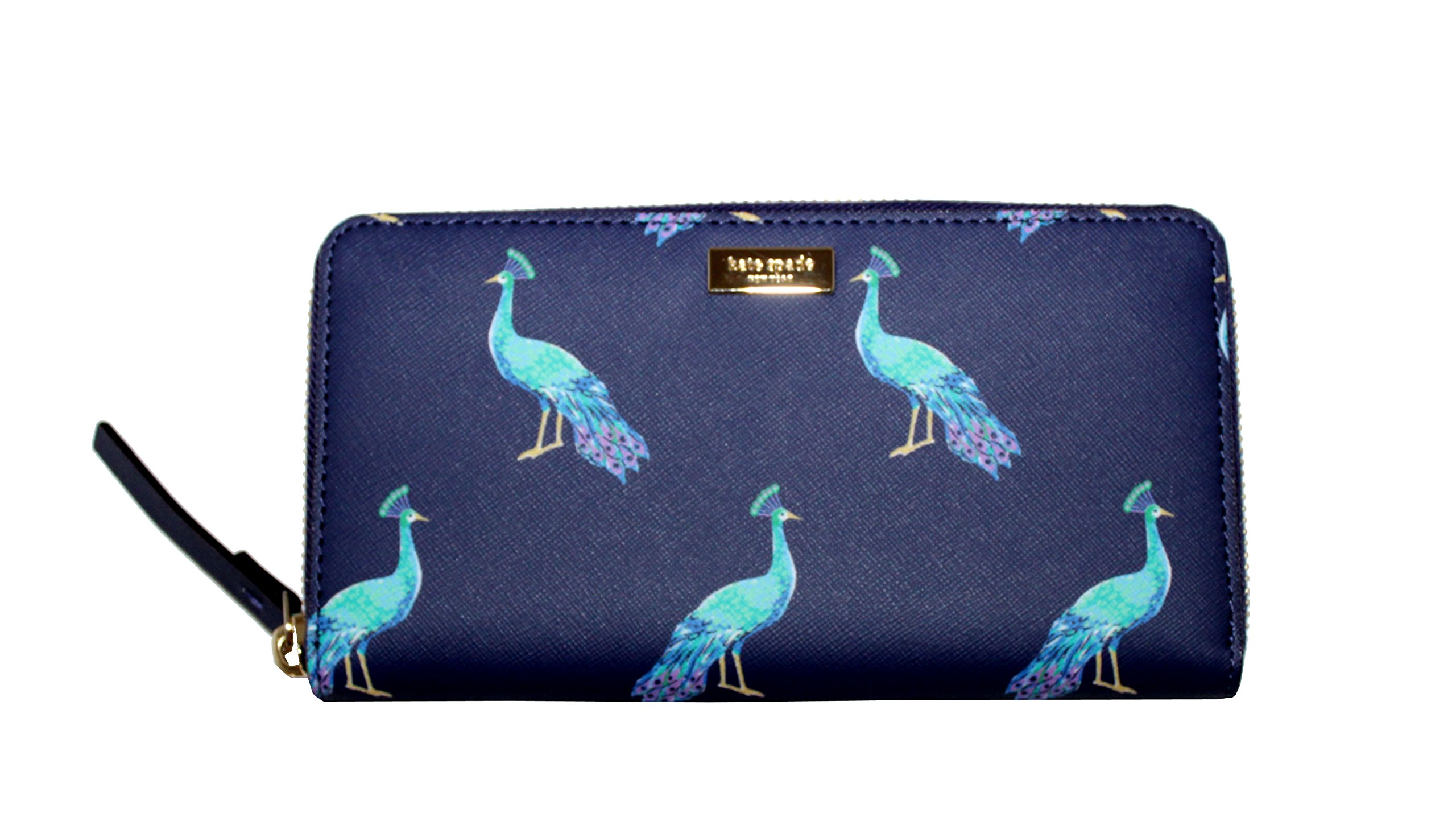Kate Spade Liberty Street Peacock Party Neda Women's Wallet Card Holder