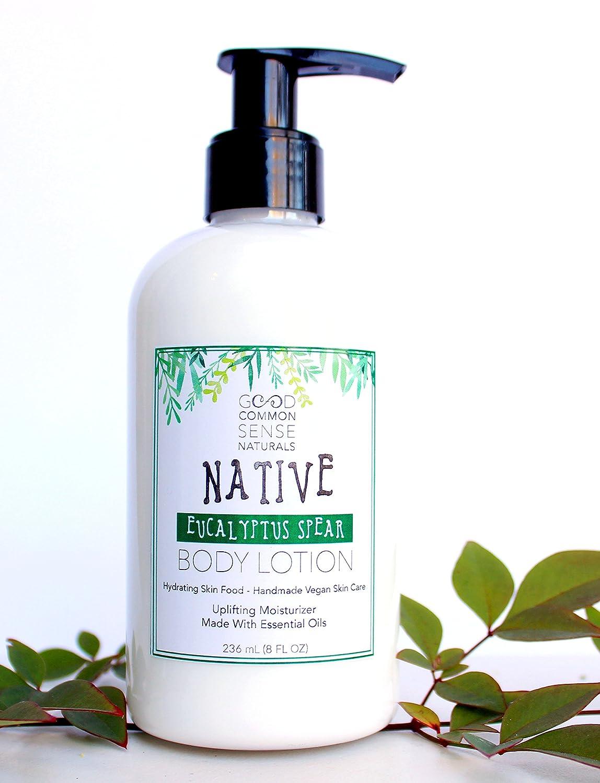 Amazon com : Native Eucalyptus Spear 8 oz body lotion - Made