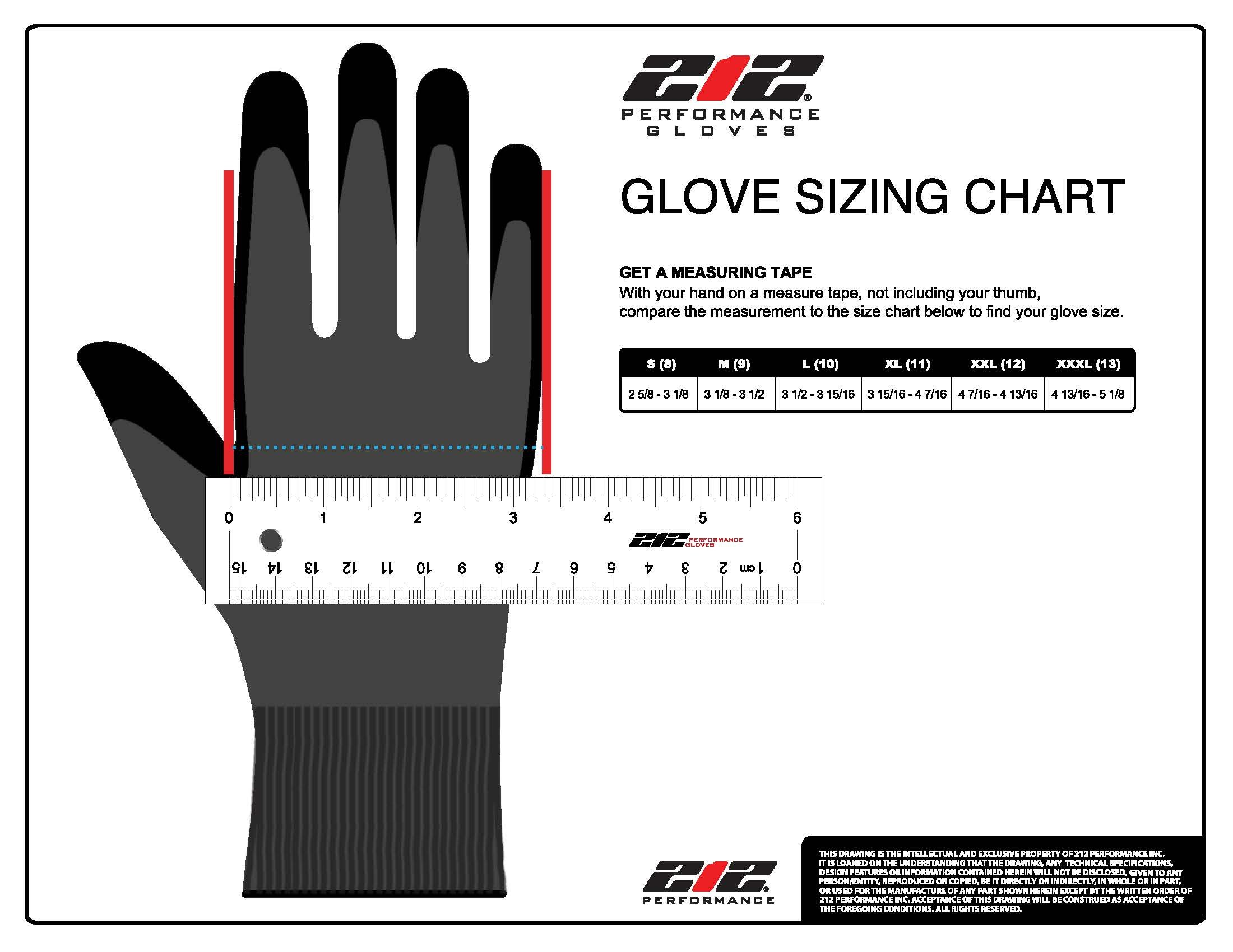 212 Performance Gloves AXDG-16-010 AX360 Dotted Grip Nitrile-dipped Work Glove, 12-Pair Bulk Pack, Large by 212 Performance Gloves (Image #5)