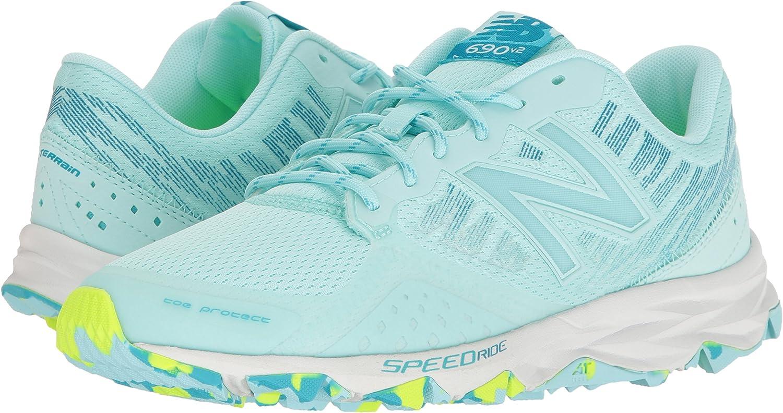 New Balance 690v2, Zapatillas de Running para Asfalto para Mujer, Azul (Blue), 43 EU: Amazon.es: Zapatos y complementos