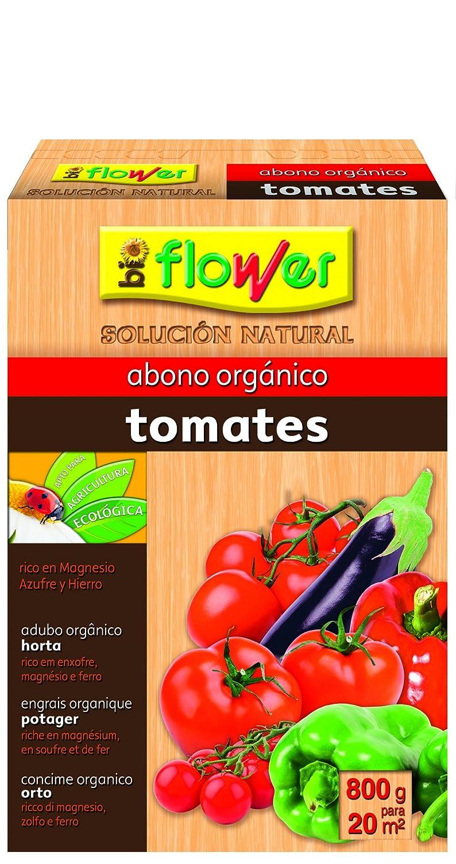 Flower 70558 70558-Abono orgánico Tomates, 800 g, No Aplica, 16x5.5x23.5 cm: Amazon.es: Jardín