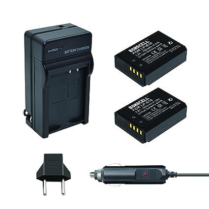 Bonacell 2PCs LP-E10 Battery 1600mAh and Battery Charger Kit for Canon EOS  Rebel T3, T5, T6, Kiss X50, Kiss X70, EOS 1100D, EOS 1200D, EOS 1300D, EOS