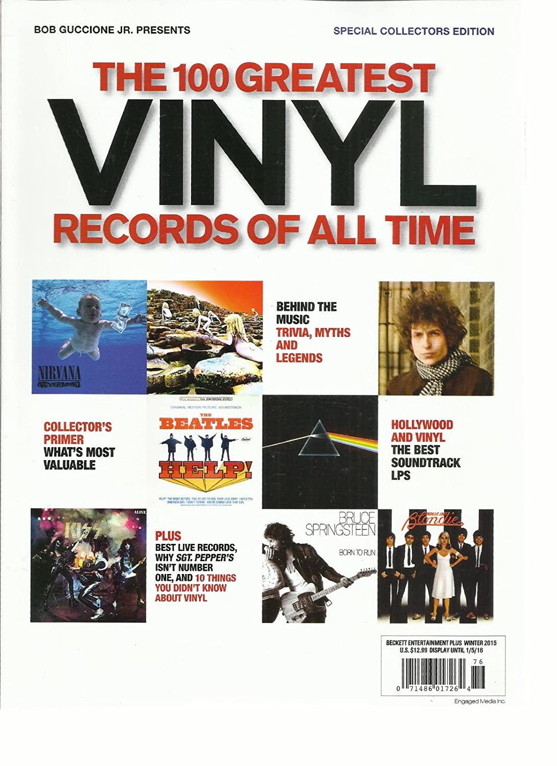 THE 100 GREATEST VINYL RECORDS OF ALL TIME MAGAZINE, SPECIAL COLLECTORS EDITION, s3457