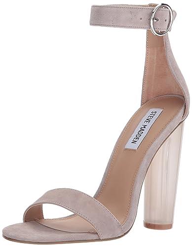 ded5a80cb9 Amazon.com | Steve Madden Women's Teaser Heeled Sandal | Heeled Sandals