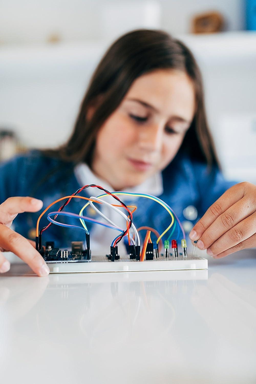 Ebotics KSIX Build /& Code Basic Electronic and Programming Kit