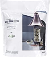 Martha Stewart 5-Pound Premium Greatest Variety Song Blend Bird Seed, Clear
