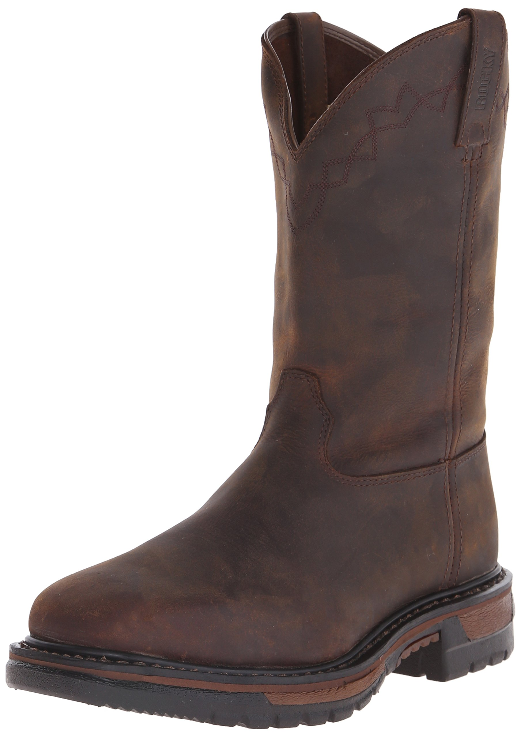 Rocky Men's RKW0117 Boot, Dark Brown, 10 M US