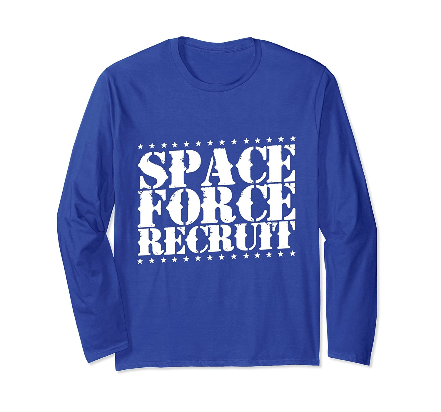 Space Force Recruit Long Sleeve T-Shirt-mt