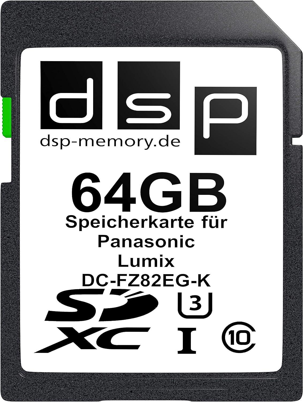 8GB Speicherkarte f/ür Panasonic Lumix DC-FZ82EG-K
