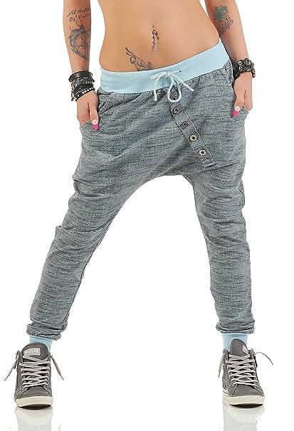 8608987ab21d ZARMEXX Pantaloni sportivi da donna alla moda pantaloni larghi Boyfriend Casual  Pantaloni da jogging Pantaloni sportivi