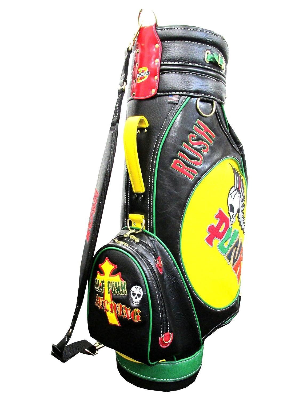 BELDING Gb Golf Skulls & Pirate Punk Series Cart Bag with 5 Pockets, 9.5
