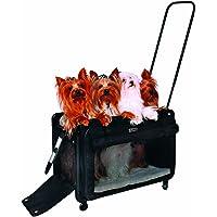 Tutto Large Pet on Wheels Stroller, 22-Inch, Black