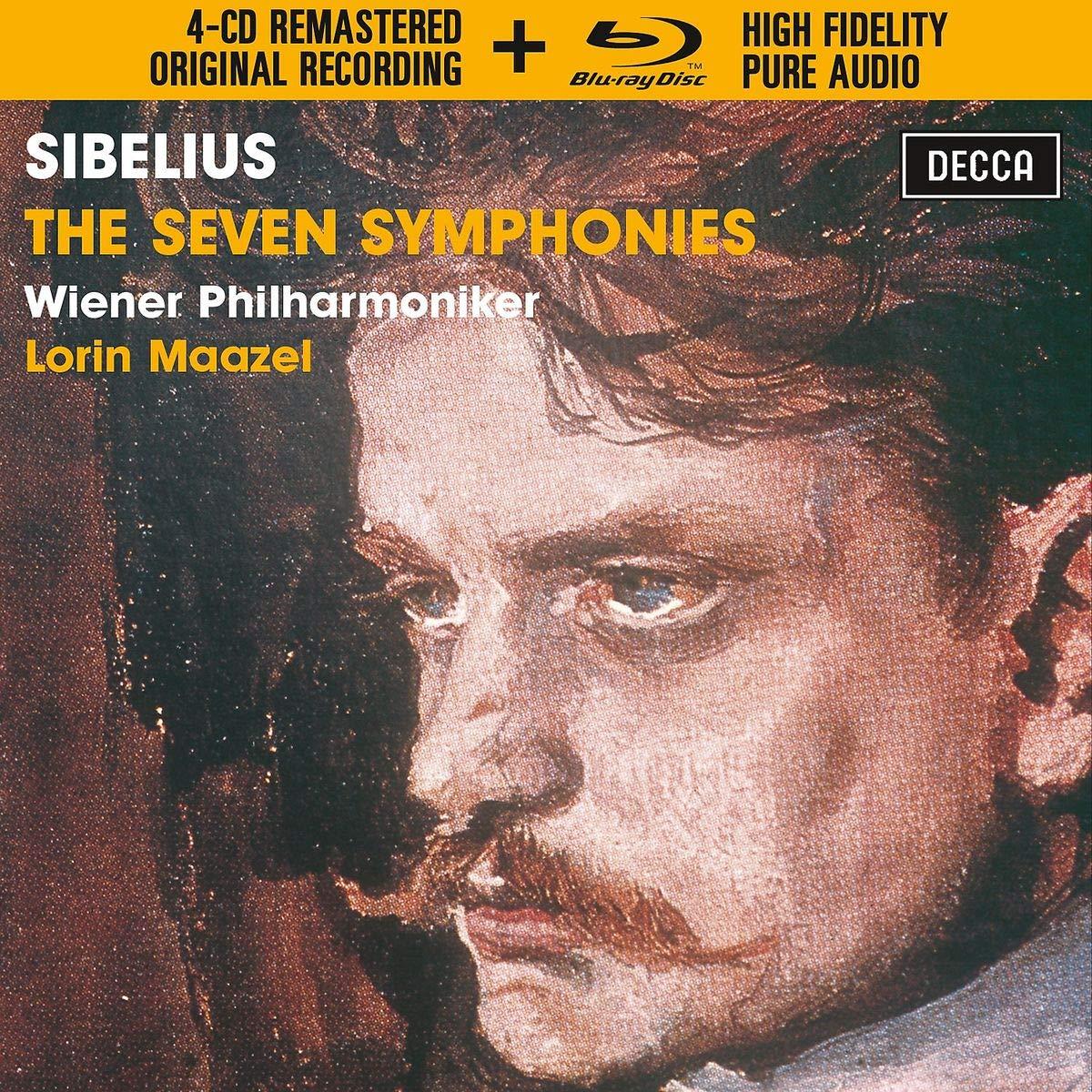 Sibelius: The Symphonies [4 CD/Blu-ray Combo]