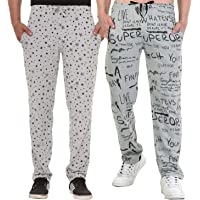 SHAUN Men's Cotton Trackpants (Pack of 2)